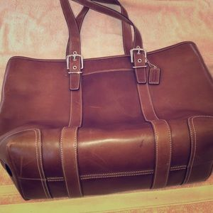 Large Coach Tote Priced to sell!